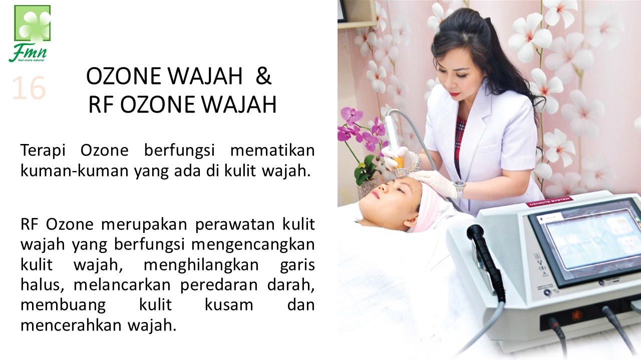 RF Ozone Wajah