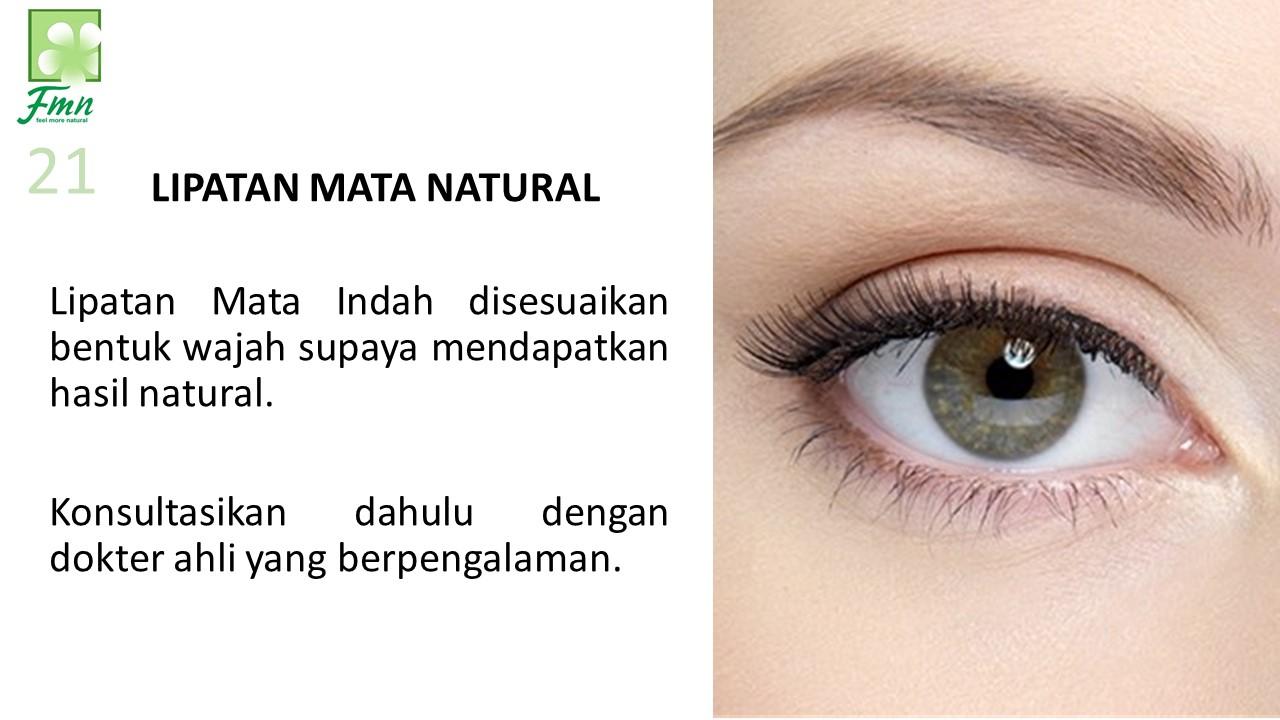 Lipatan Mata Natural