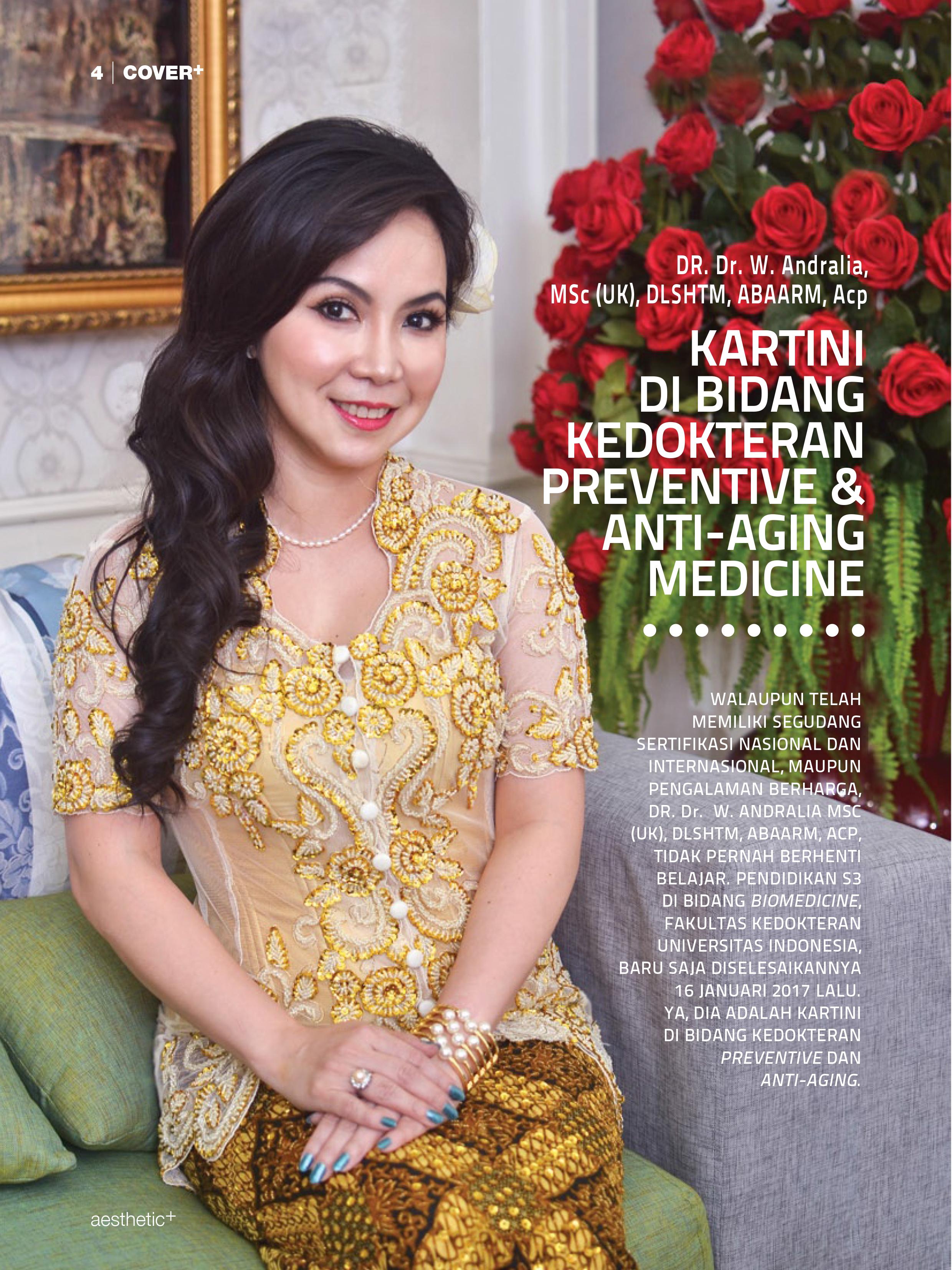 Kartini di Bidang Kedokteran Preventive & Anti Aging Medicine
